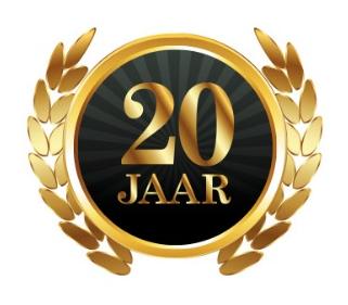 20 jaar 20 jaar Ondernemerschap 1998 2018   20 jaar